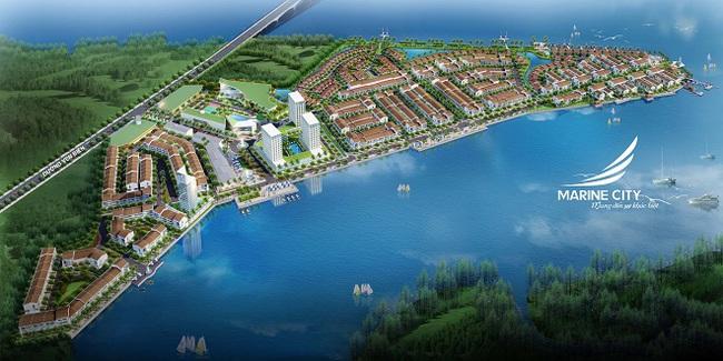 """""""Tranh mua"""" đất nền Marine City lợi nhuận khủng 12%/năm"""