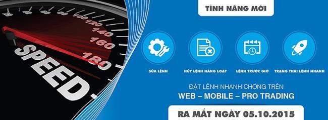 SSI ra mắt 4 tiện ích mới trên hệ thống giao dịch trực tuyến Web – Mobile – Pro Trading