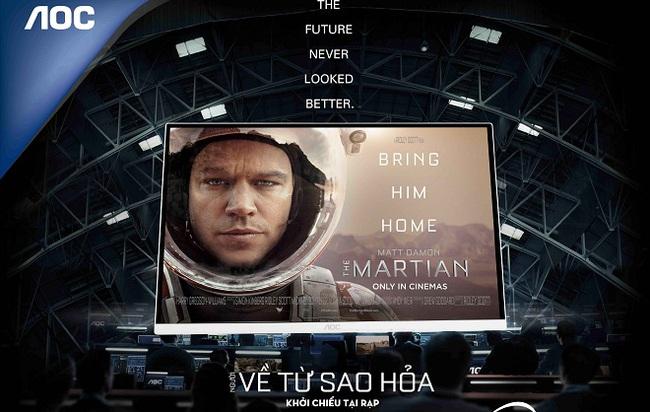 AOC đồng hành cùng FOX giới thiệu bộ phim The Martian