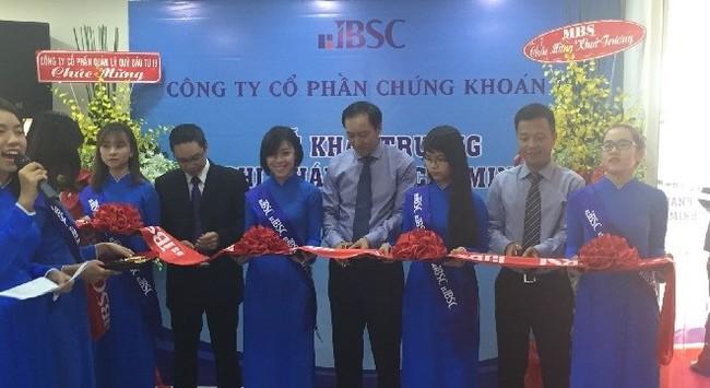 Công ty CP Chứng khoán IB khai trương chi nhánh mới tại TP. HCM