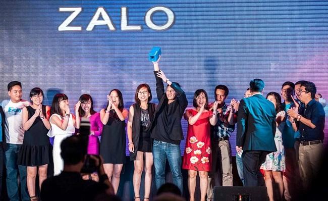 Zalo giành giải thưởng quốc tế về tiếp thị di động