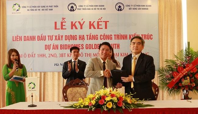 BID Việt Nam, HANHUD hợp tác triển khai dự án BIDhomes Golden South
