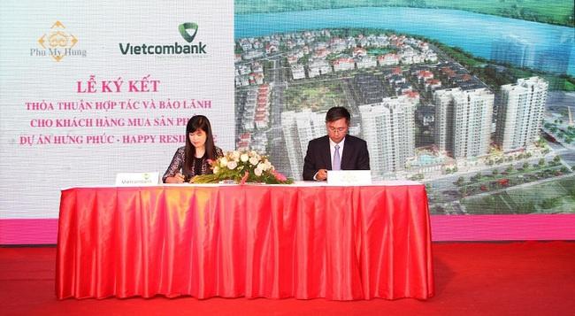 Dự án Phú Mỹ Hưng được Vietcombank bảo lãnh