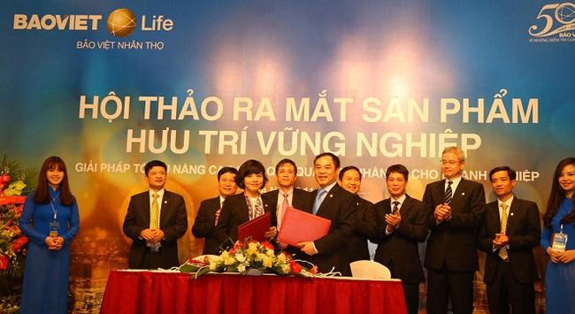 Bảo Việt Nhân Thọ ra mắt sản phẩm Hưu Trí Vững Nghiệp