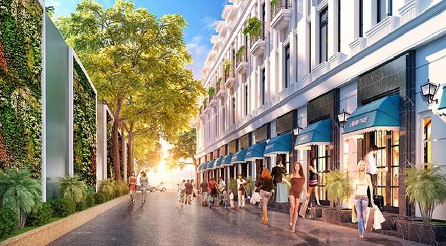 Mô hình nhà phố thương mại phát triển mạnh tại Hải Phòng