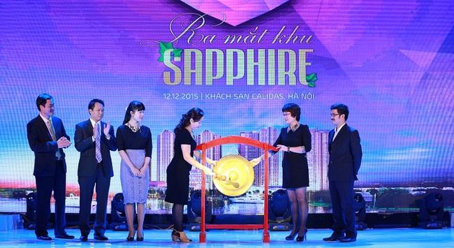 Dự án Goldmark City ra mắt khu Sapphire