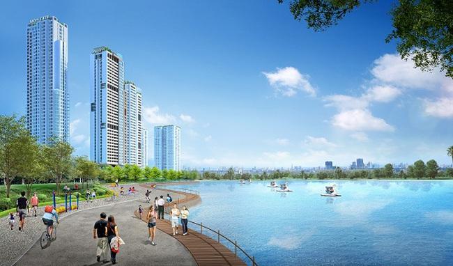 Mon City: Dự án chung cư, nhà phố thương mại mang thương hiệu HD Mon Holdings