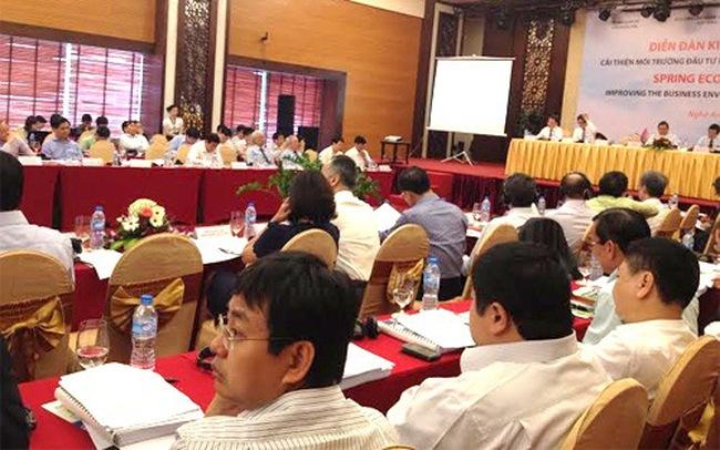 Thay đổi lớn tại Diễn đàn Kinh tế Mùa thu 2015