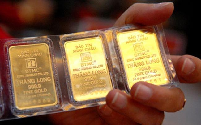 Vàng tăng giá mạnh, USD ngân hàng quay đầu đi xuống
