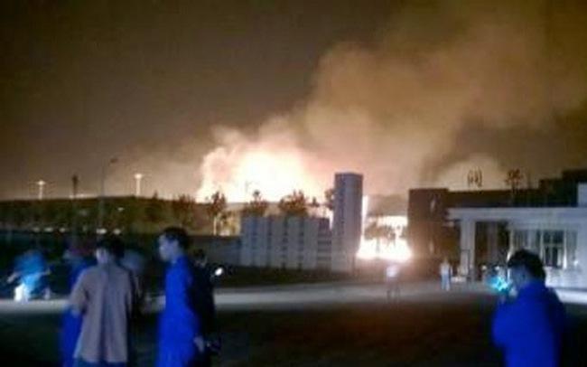 Trung Quốc lại rung chuyển vì vụ nổ mới
