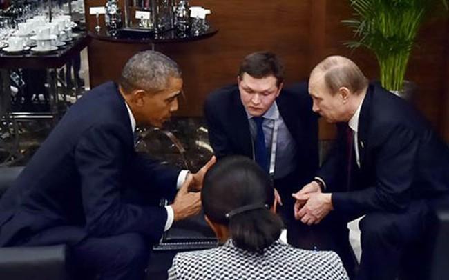 Hậu khủng bố Paris: Cuộc gặp 35 phút của Obama - Putin
