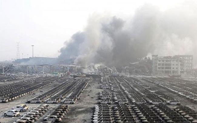 Trung Quốc bắt 12 nghi phạm vụ nổ ở Thiên Tân
