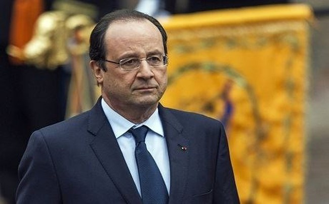 Uy tín Tổng thống Pháp tăng mạnh sau vụ chống khủng bố ở Paris