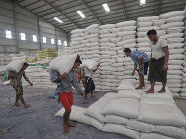 Myanmar tạm dừng xuất khẩu gạo đến trung tuần tháng Chín