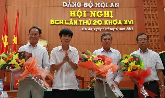 Ông Kiều Cư làm bí thư Thành ủy Hội An thay ông Nguyễn Sự