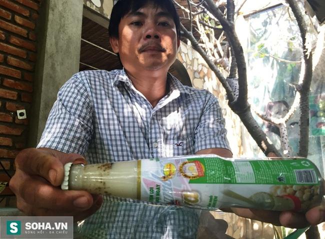 Lại phát hiện dị vật trong sữa đậu nành của Tân Hiệp Phát
