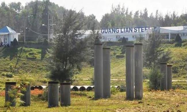 Dự án thép tỷ đô Guang Lian đứng trước nguy cơ bị rút giấy phép