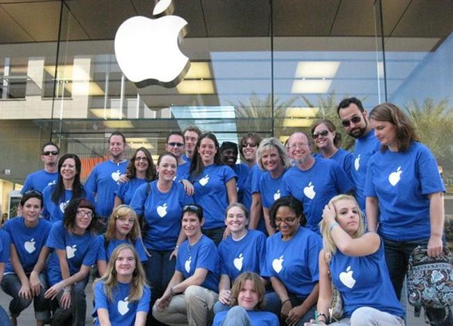 Nhân viên Apple làm ra tiền nhiều nhất