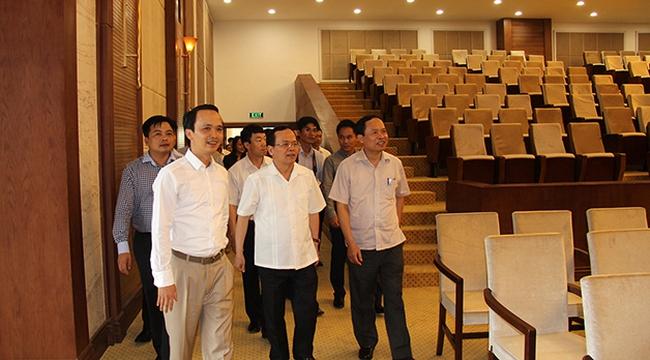 Chủ nhiệm Ủy ban Kiểm tra TW thăm dự án của Tập đoàn FLC