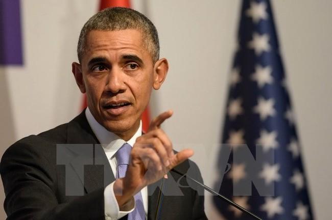 Obama tin tưởng TPP sẽ được phê chuẩn trước khi ông rời nhiệm sở