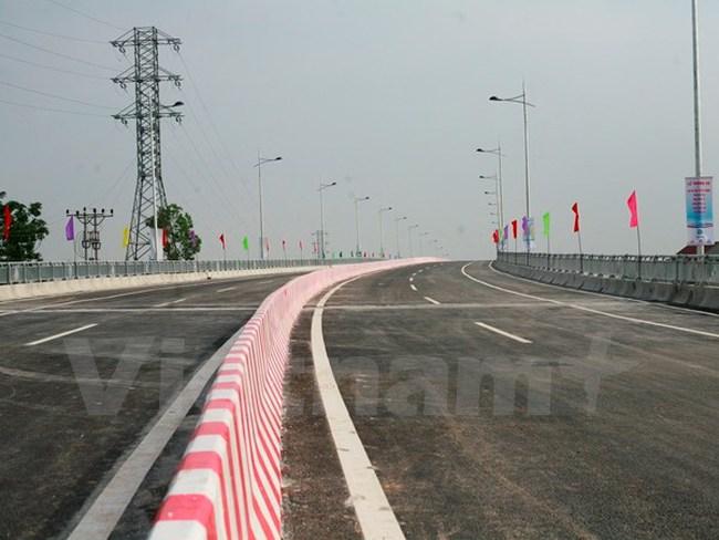 Thông xe cầu Việt Trì mới nối liền hai tỉnh Phú Thọ-Vĩnh Phúc