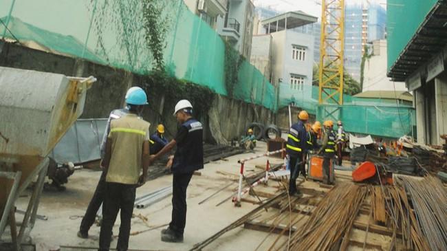 Dân khổ vì công trình xây dựng