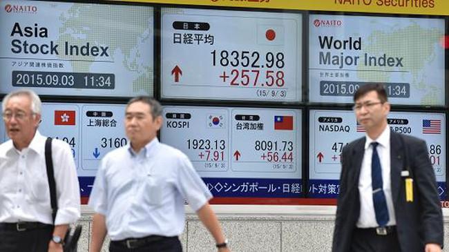 Tăng 1.300 điểm, Nikkei 225 tăng mạnh nhất 7 năm