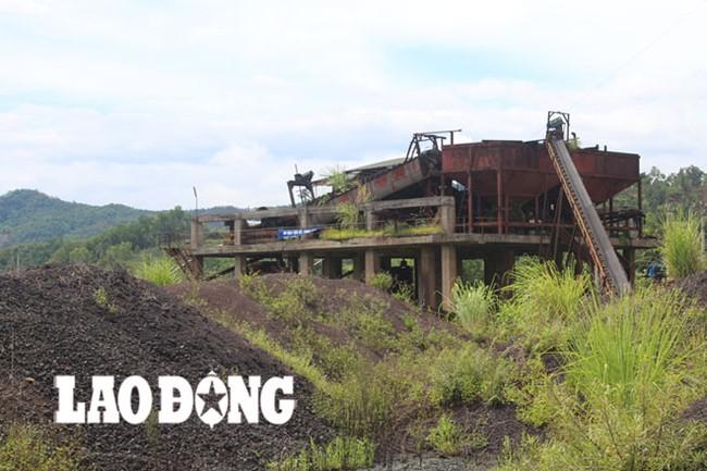 """Nhà máy tuyển quặng """"chết yểu"""", nợ xấu hơn 100 tỉ đồng"""