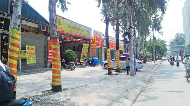 Hà Nội: 'Xã hội đen' bao thầu công trình sai phép?