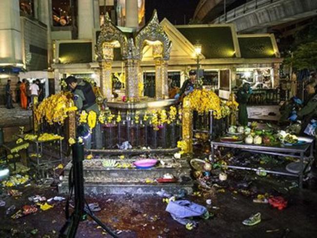 Thái Lan đề nghị Trung Quốc truy tìm nghi can vụ đánh bom