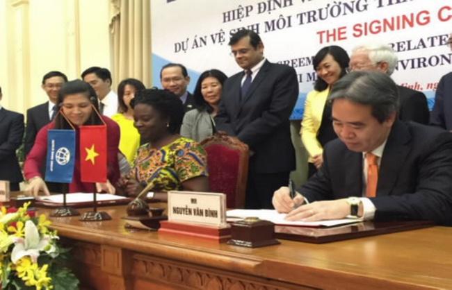 WB cho vay 450 triệu USD cải thiện môi trường tại TP. HCM