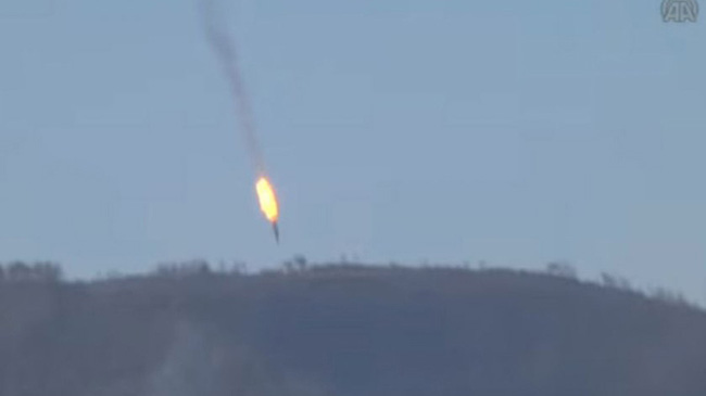 Ông Putin cáo buộc Mỹ đồng lõa vụ bắn hạ Su-24