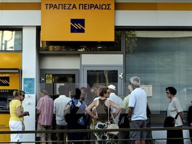 Chính phủ Hy Lạp nới lỏng các biện pháp kiểm soát vốn