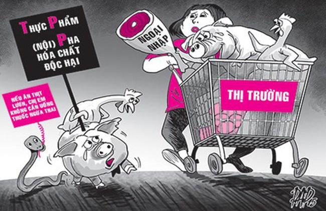 """Chưa vào TPP, đã bị buộc """"quay lưng"""" với hàng nội"""