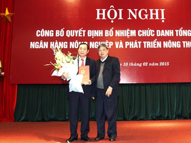 Ông Tiết Văn Thành chính thức làm Tổng giám đốc Agribank