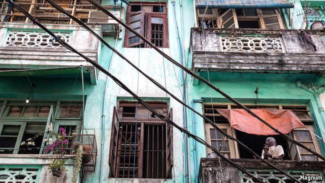 Đổi thay ở Yangon