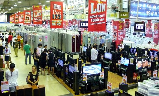 Thị trường bán lẻ 2015: Nhiều trung tâm thương mại mới ra đời
