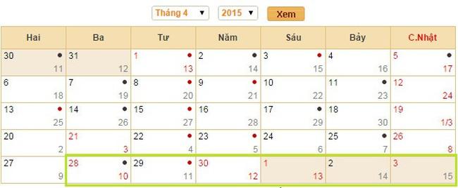 Thời sự 24h: Nghỉ 6 ngày dịp Giỗ tổ Hùng Vương, 30/4 và 1/5