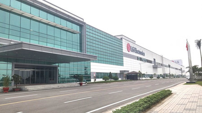 Siêu dự án 1,5 tỷ USD của LG ở Hải Phòng