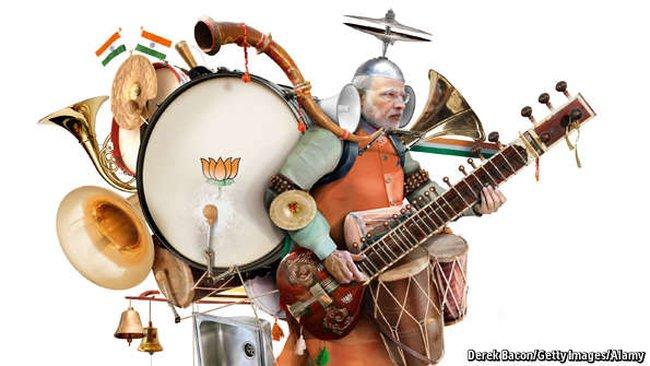 """""""Ban nhạc một người chơi"""" của Ấn Độ"""