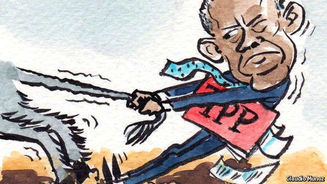 TPP bộc lộ điểm yếu của nước Mỹ?