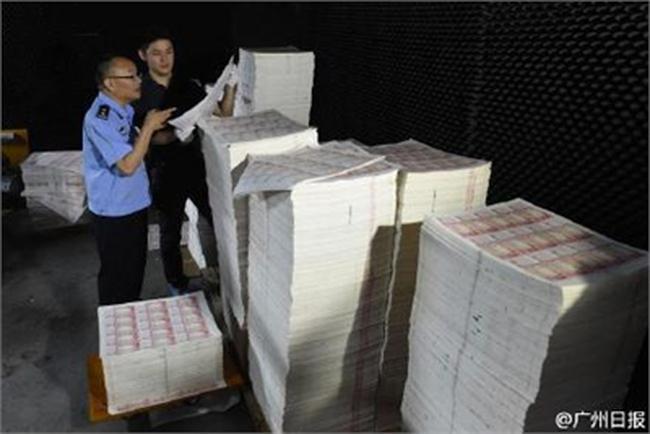 Trung Quốc phá vụ làm tiền giả lớn nhất lịch sử