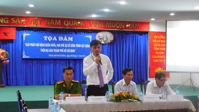 TPHCM: Tìm giải pháp ngăn ngừa sự cố công trình xây dựng