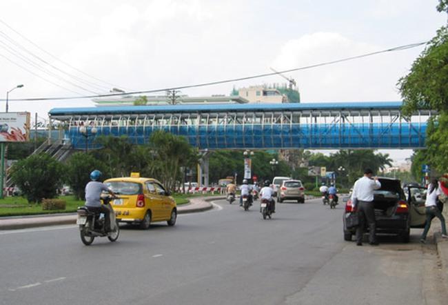 Gần 15 tỷ đồng xây dựng cầu vượt đi bộ qua đường Yên Phụ