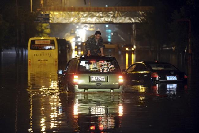 Lũ lụt tại Trung Quốc, ít nhất 57 người thiệt mạng
