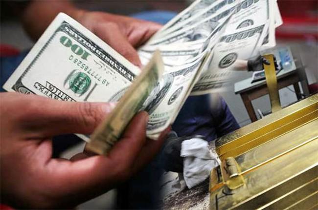 Giá vàng giảm, USD ngân hàng quay đầu hạ nhiệt