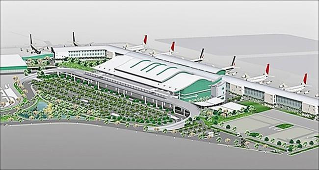 Tiếp tục mở rộng nhà ga quốc tế Tân Sơn Nhất