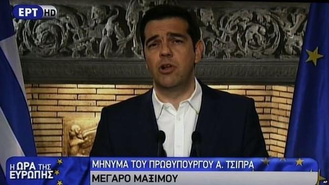 """Hy Lạp trưng cầu dân ý về gói cứu trợ """"nhục nhã"""""""