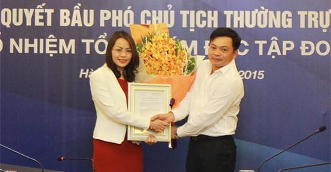 Bà Hương Trần Kiều Dung là tân Tổng Giám đốc Tập đoàn FLC