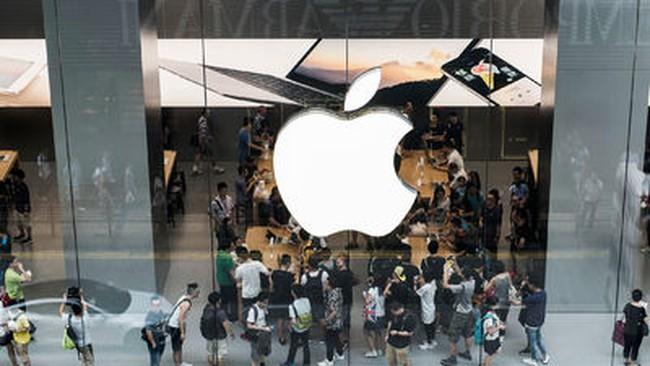 Cổ phiếu Apple đè nặng phố Wall